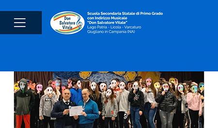 Scuola Secondaria Statale di Primo grado Indirizzo Musicale 'Don Salvatore Vitale'