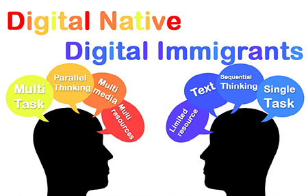 Digital natives and Digital immigrants