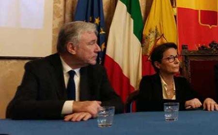 Enrico Panini e Monica Buonanno