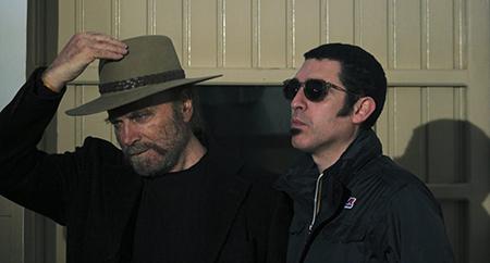 Franco Nero e Mauro John Capece