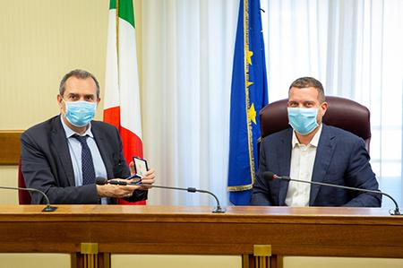 Luigi de Magistris e Stefano Vignaroli