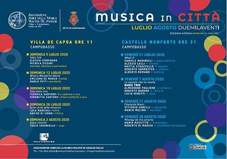 'Musica in Città' a Campobasso