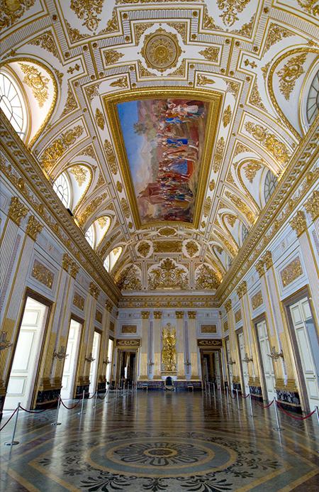 Sala del trono della Reggia di Caserta