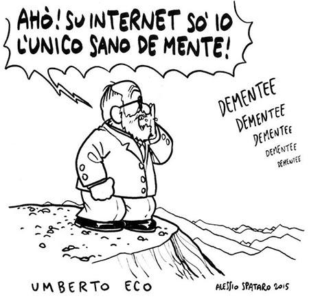 Umberto Eco - immagine di Alessio Spataro