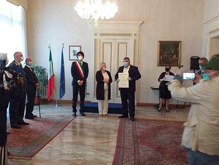 Vincenzo Cimino Cavaliere al Merito della Repubblica italiana
