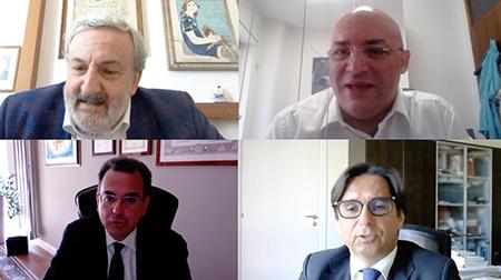 Webinar UNAGRACO - Emiliano, Pagliuca, Diretto e de Nuccio