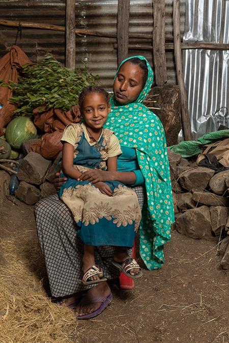 Abay e sua figlia Seble