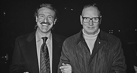 Augusto De Luca ed Ennio Morricone