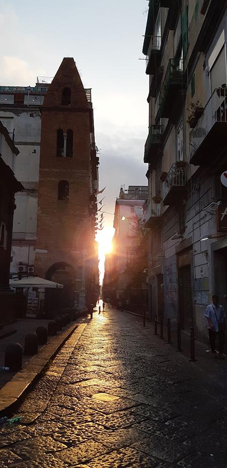 Campanile della Basilica della Pietrasanta di Napoli