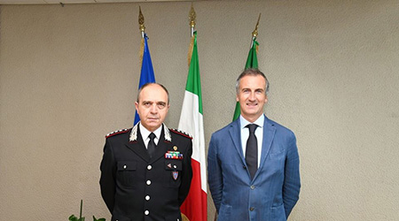 Claudio Vincelli ed Alessandro Fermi