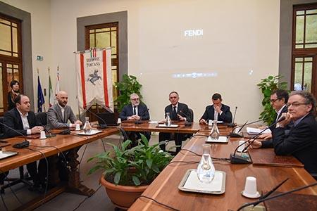 Enrico Rossi accordo Fendi