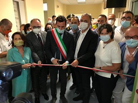 Enrico Rossi e Stefania Saccardi al Ceppo