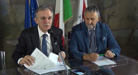 Enrico Rossi e Vincenzo Ceccarelli