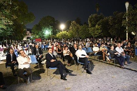 Evento per Mario Paciolla in Villa comunale a Napoli