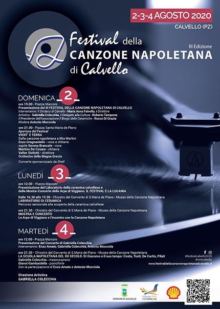 Festival della Canzone Napoletana di Calvello - III edizione