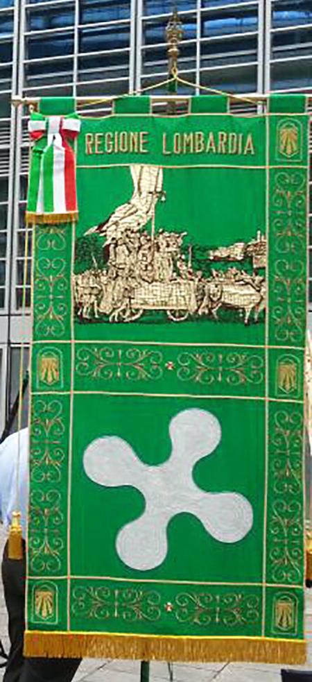 Gonfalone Regione Lombardia