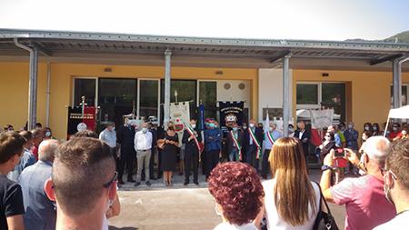 Inaugurazione scuola Ghivizzano (LU)