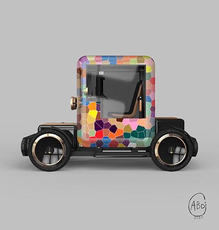'La Pop car' - ABD