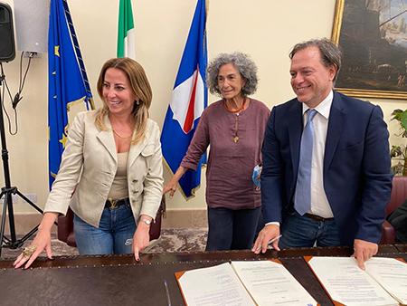 Lucia Fortini, Mirella Barracco e Paolo Giulierini