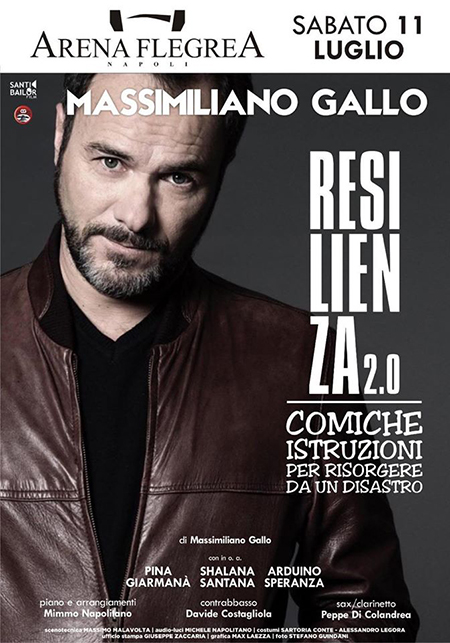 Massimiliano Gallo in 'Resilienza 2.0'