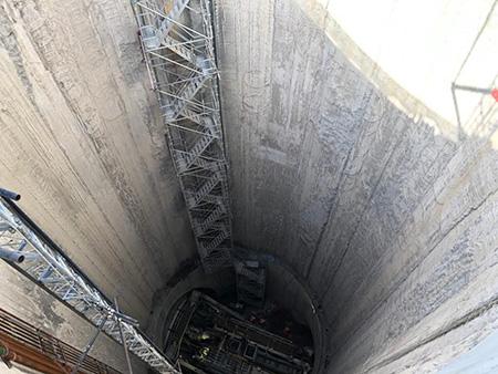 Metro Linea 1 Napoli: lavori scavo tunnel Capodichino - Poggioreale