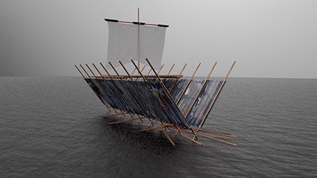 'Nave' di Gio Montez