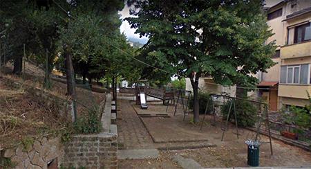 Parco pubblico salita San Francesco a Cori (LT)