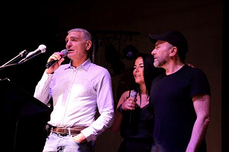 Patrizio Oliva, Loredana Daniele e Gianfranco Gallo - Arturo Favella Fotografo