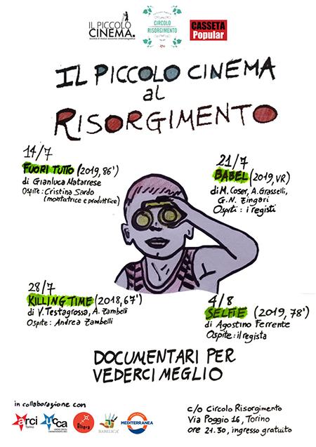 'Il Piccolo Cinema al Risorgimento. Documentari per vederci meglio'