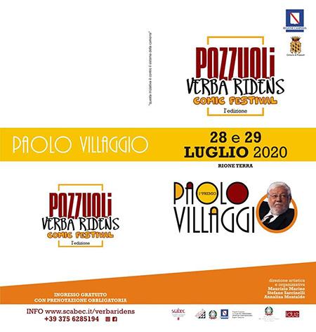 'Premio Paolo Villaggio'
