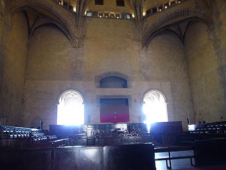 Sala dei baroni Maschio Angioino di Napoli