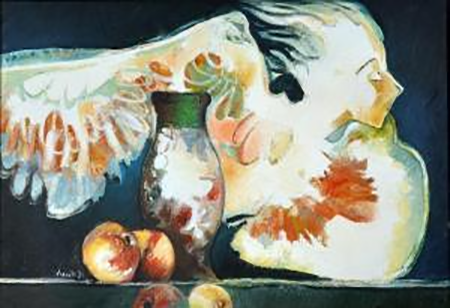 Umberto Leonetti, 1978, Senza titolo, olio su tela, cm 50x70