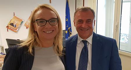 Valeria Giancola e Giuseppe Tedesco