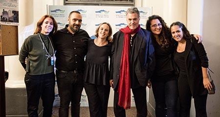 Amos Gitai, Antonella Di NOera e staff di 'Napoli a Venezia'