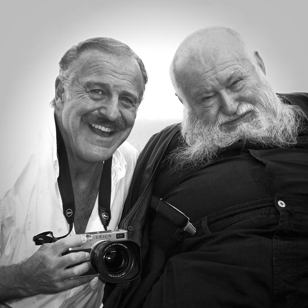Augusto De Luca ed Hermann Nitsch