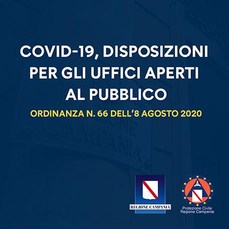 Ordinanza n.66 dell'8 agosto 2020