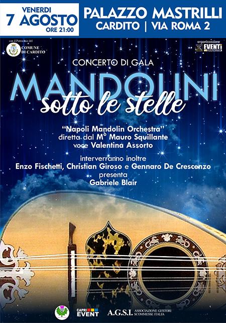 'Mandolini sotto le stelle' a Palazzo Mastrilli a Cardito (NA)