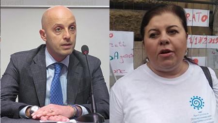 Matteo De Lise e Maria Pia Nucera
