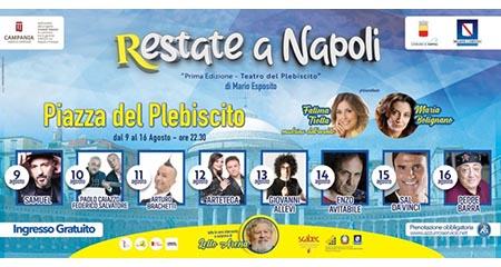 'Restate a Napoli 2020'