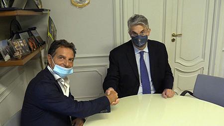 Vincenzo Moretta e Giorgio Zinno