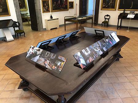 Allestimento 'Tocchiamo Terra' al Pio Monte della Misericordia di Napoli
