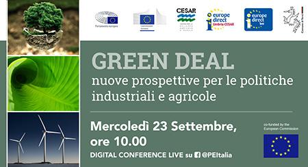 Green Deal e le politiche industriali e agricole