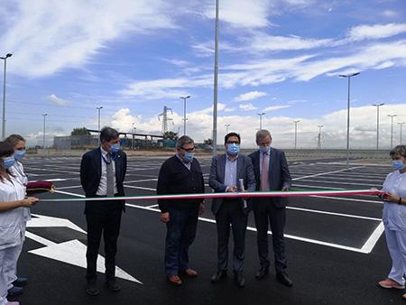 Inaugurazione nuovo parcheggio AOU Sant'Andrea di Roma