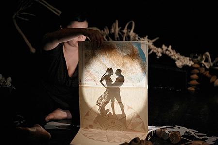 Lidelab in 'Morte - Il fuoco nelle mie ossa' foto Elisa Nocentini - 'Tramedautore 2020'