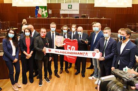 Lombardia, premiazione delle squadre di calcio neopromosse