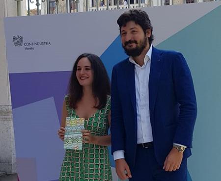 Michela Panchini ed Eugenio Calearo