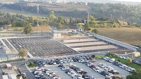 Nuovo parcheggio AOU Sant'Andrea di Roma