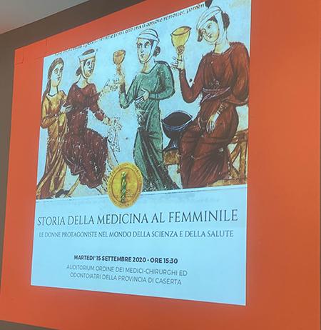 Ordine Medici Caserta. La storia della medicina al femminile