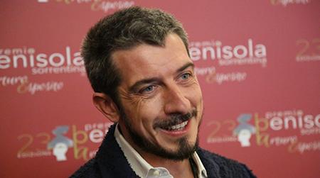 Paolo Ruffini Testimonial Premio 'Penisola Sorrentina'