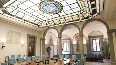 Sala Pegaso a Palazzo Strozzi Sacrati a Firenze